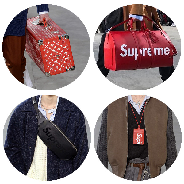 Louis Vuitton x Supreme合作系列