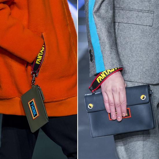 Fendi卡包和手拿包