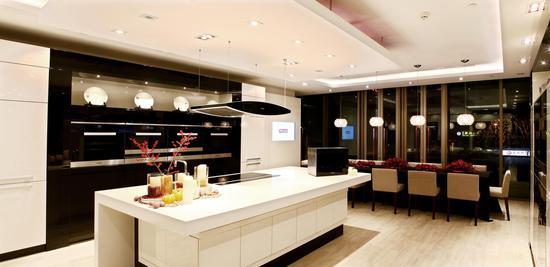 德国美诺北京Miele Center 现代化的体验式家庭厨房