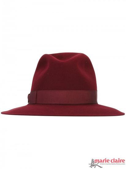 BORSALINO 蝴蝶结细节帽子