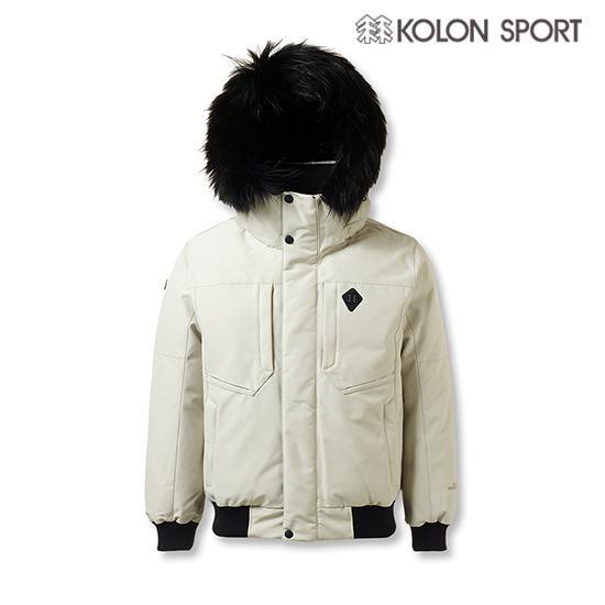 KOLON SPORT白色羽绒服