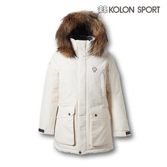 KOLON SPORT 白色Snowball羽绒服