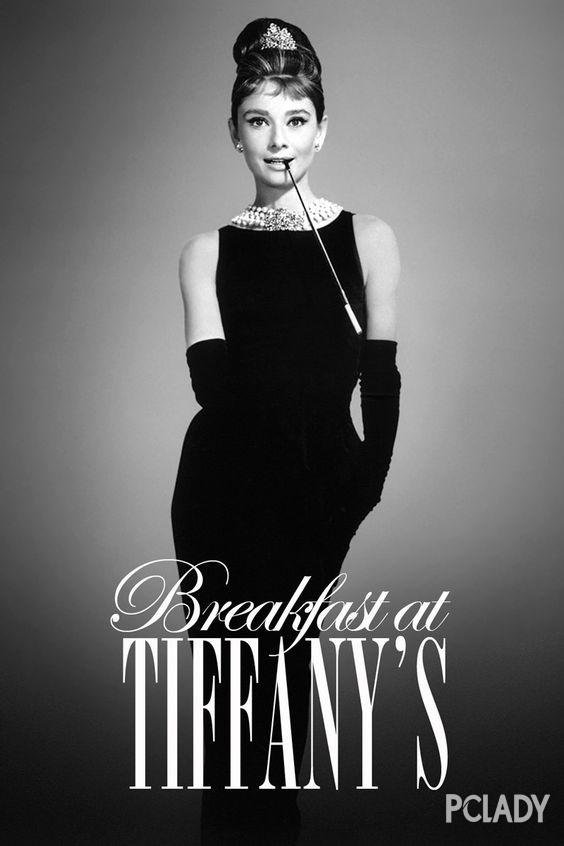 奥黛丽-赫本1961年的电影《蒂芙尼的早餐