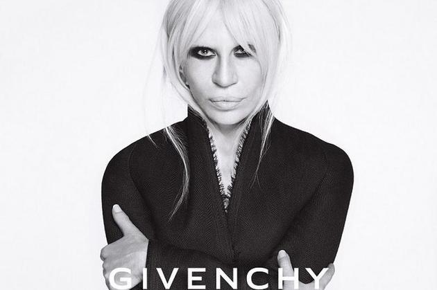 Donatella登上Givenchy广告