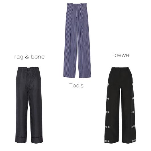 阔腿裤单品推荐