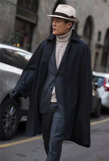 西装 Suitsupply 帽子 borsalino