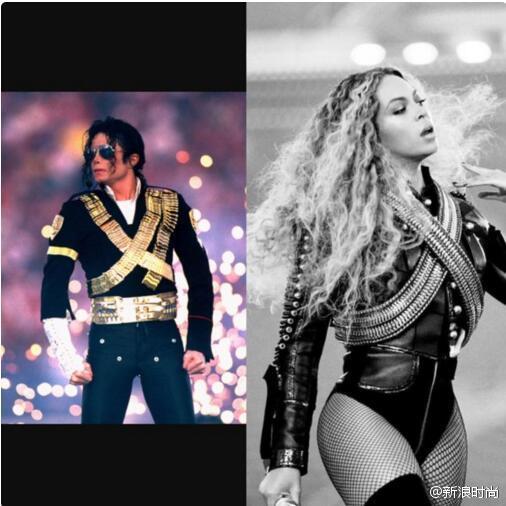 碧昂斯致敬迈克-杰克逊