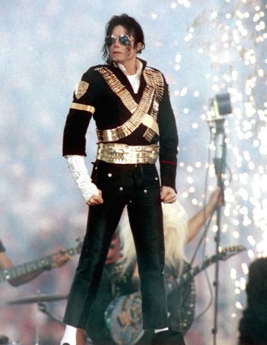 1993年超级碗半场表演嘉宾:迈克尔-杰克逊