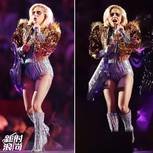 Gaga的黄金战甲
