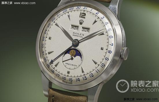 劳力士著名的全历表8171,这只手表也是创造拍卖高价的常客。