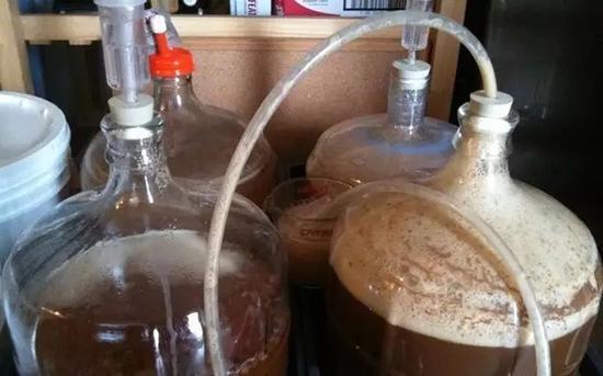 简易的设备就可以酿造出自家的啤酒