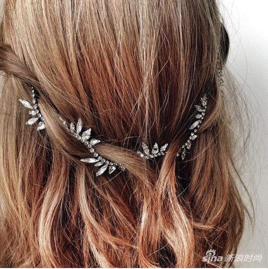 7將項鏈編入髮型