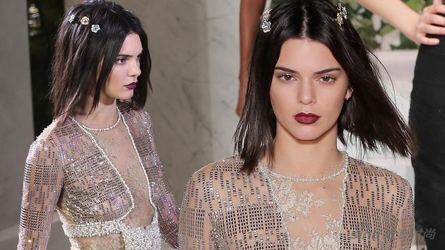 Kendall Jenner全新髮型及