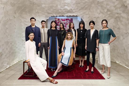 Sisley法国希思黎×「上下」2017春夏系列预览秀场妆容