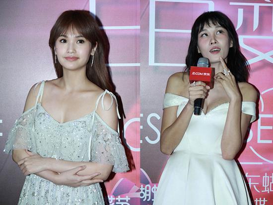 少女还是大姐,张蓝心、杨丞琳的刘海差在哪?
