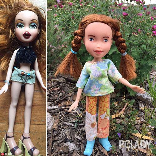 芭比娃娃是小女孩们最初的梦想