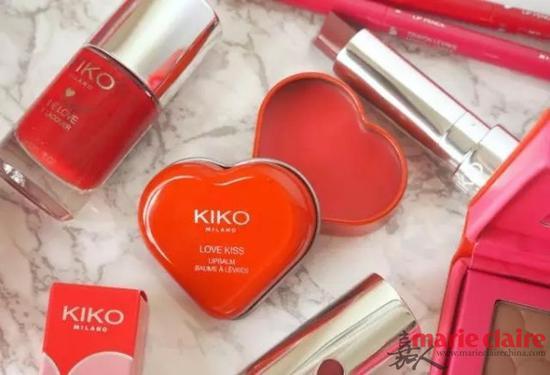 KIKO 草莓爱心润唇膏