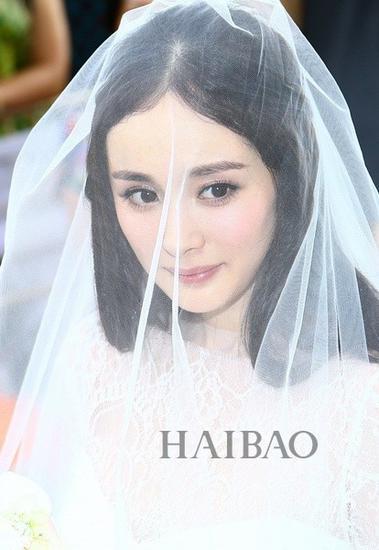 杨幂婚礼妆容