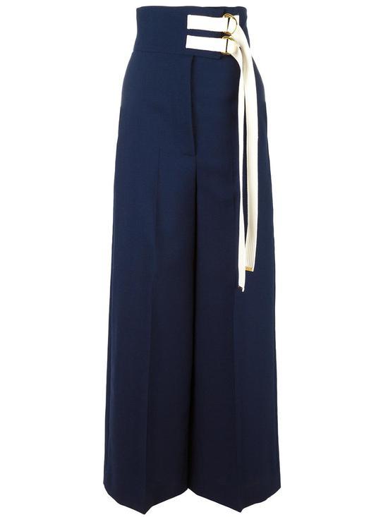 Marni 条带高腰阔腿裤 约¥11670