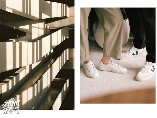 Veja小白鞋的lookbook