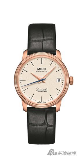 瑞士美度表Baroncelli贝伦赛丽典藏系列纪念款超薄女士腕表