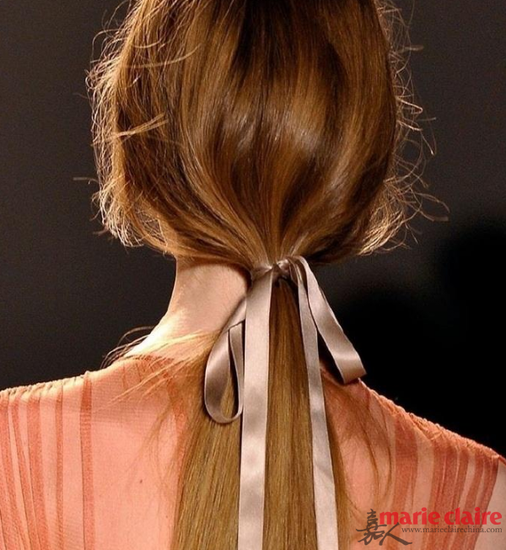 你还可以绑上彩色丝带