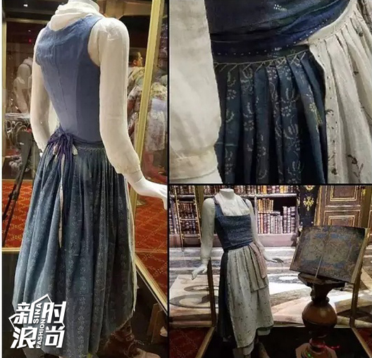 开头的蓝色戏服