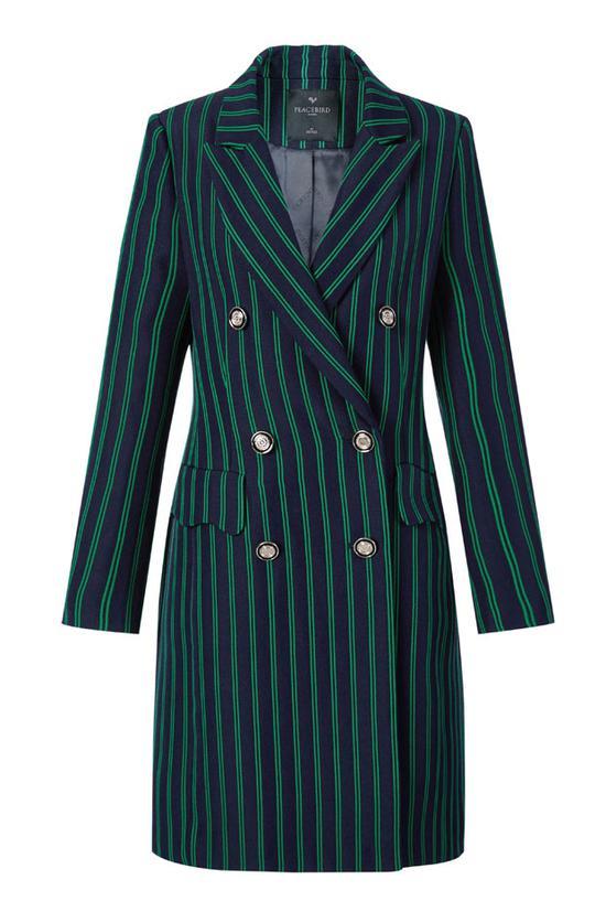 太平鸟女装修身西装外套 ¥299