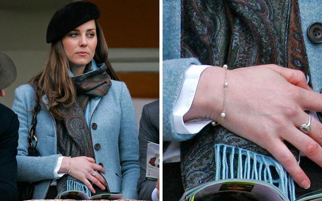 这条Tiffany的珍珠手链也是凯特真爱的私物