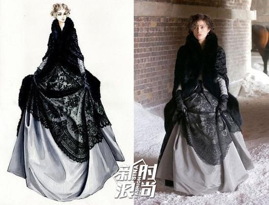 《安娜卡列尼娜》黑色戏服