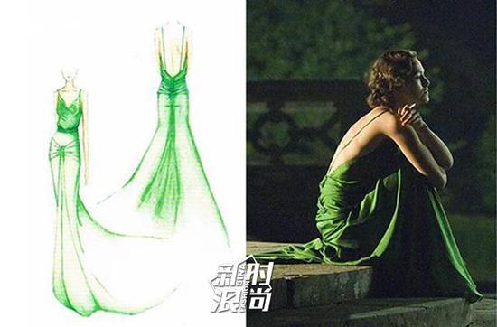 《赎罪》中经典的lv露背吊带裙