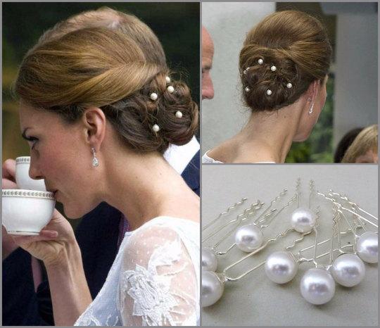人造珍珠发夹