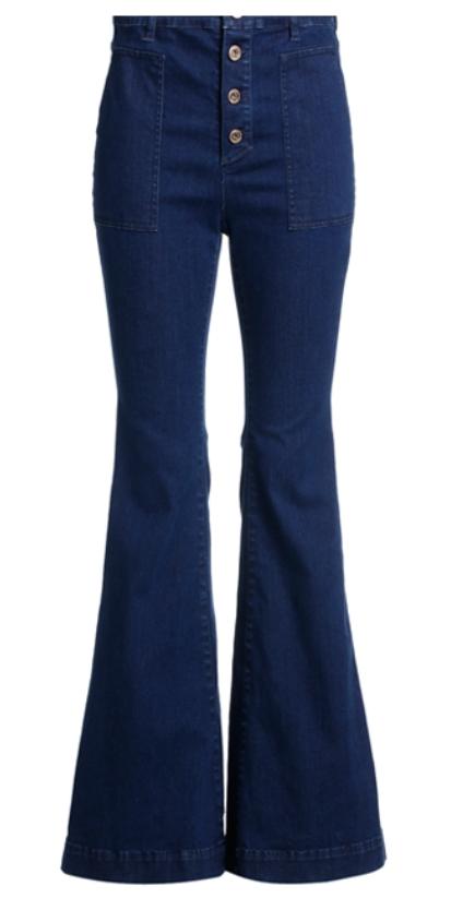 Five Plus高腰阔腿喇叭牛仔裤 ¥1419