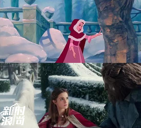 女主角的红色doup造型
