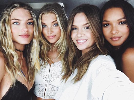 四大天使发型都是妥妥的相配
