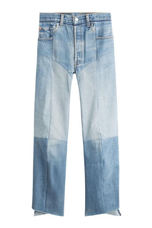 VETEMENTS 毛边牛仔裤 约¥7229