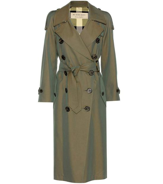 BURBERRY Foxriver Cotton Trench Coat 约¥14017