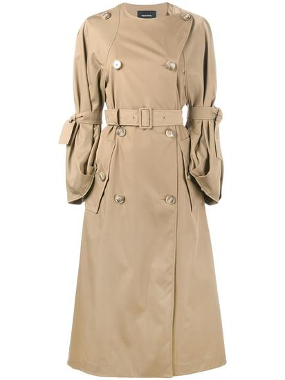 Simone Rocha 双排扣风衣 约¥16932