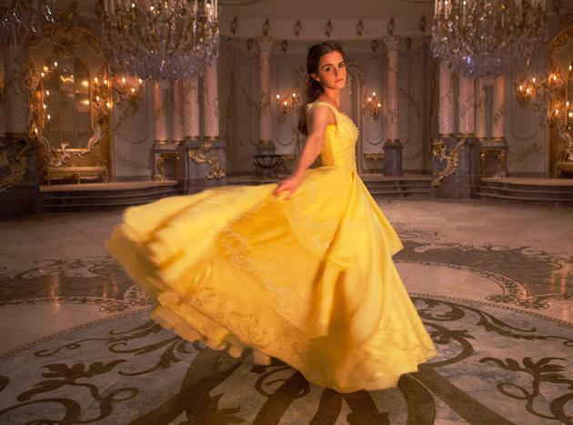 Emma Watson在电影中饰演贝儿公主