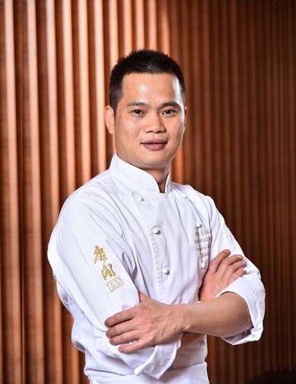 主厨谭仕业 图片来源:上海新天地朗廷酒店