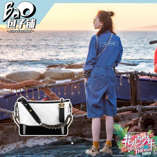 江疏影的Chanel斜挎包