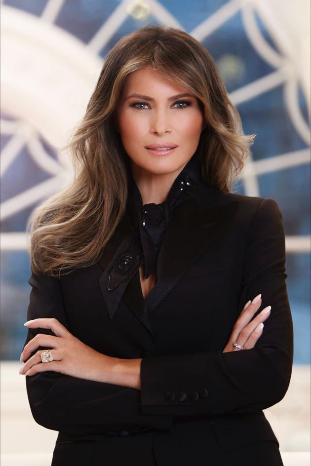 美国第一夫人梅拉尼娅-特朗普的官方照片