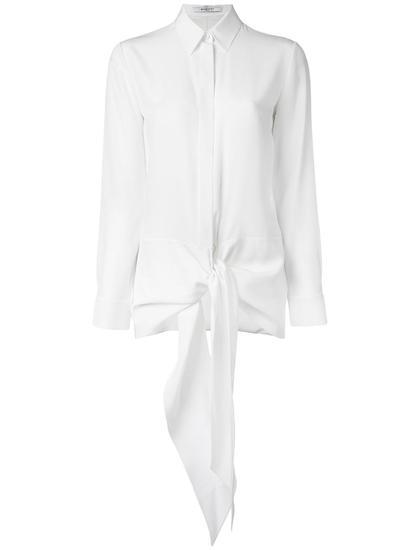 Givenchy 腰边绑带衬衫 约¥11954
