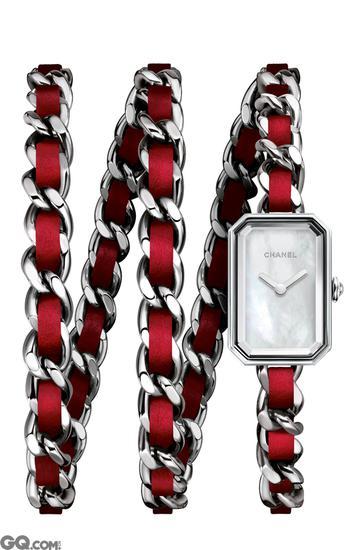 PREMIèRE ROCK红色表链腕表