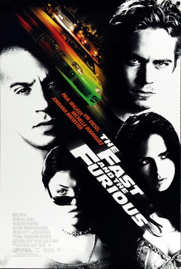 2001年的初代《速度与激情》开启经典之旅