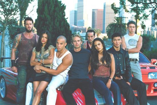 2001年的《速激1》剧照