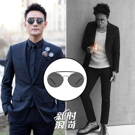 王凯和邓超都戴了Dior的墨镜