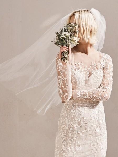 1主流大牌的时尚婚纱