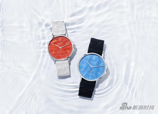 NOMOS全新 Aqua 系列腕表