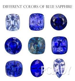 蓝宝石有个好听的英文名——Sapphire